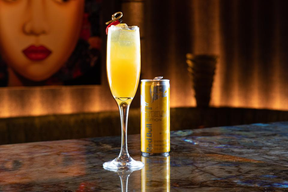 Nirvana Mocktail Recipe by TAO Chicago.