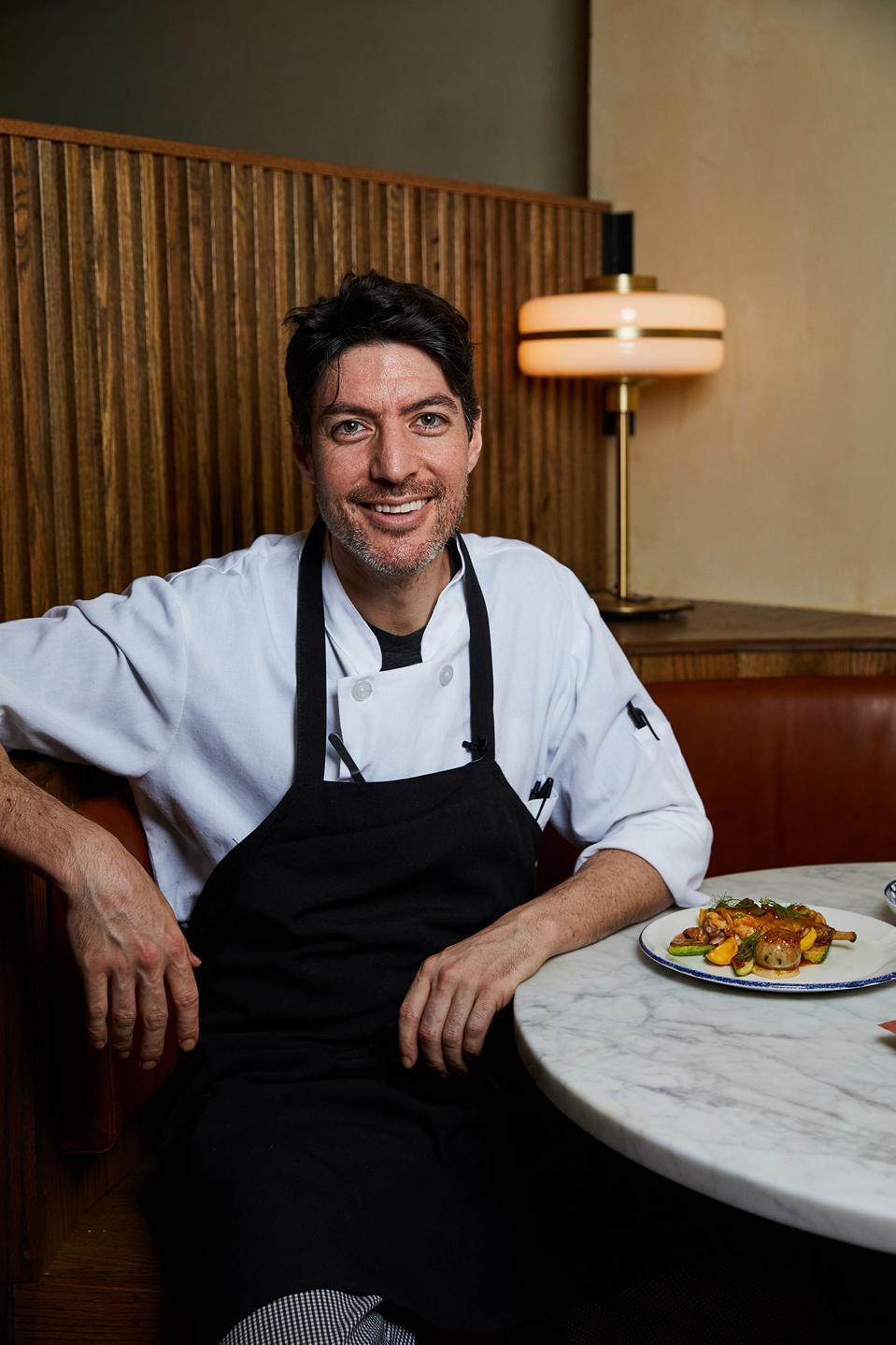 Chef Stefano Secchi of Rezdora