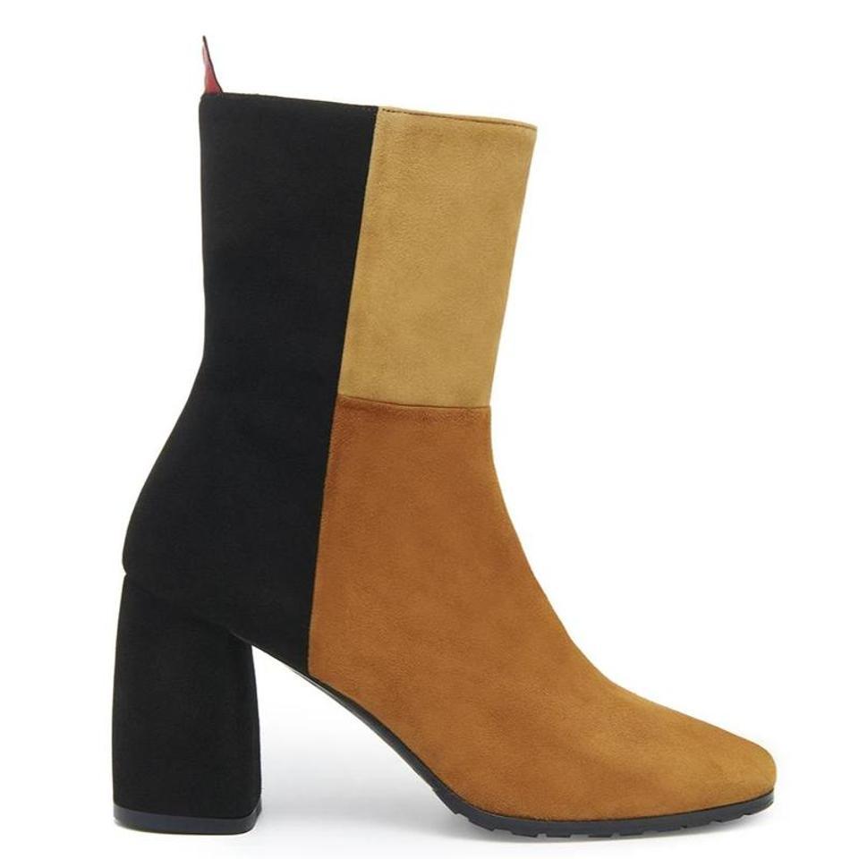 Colorblock boot