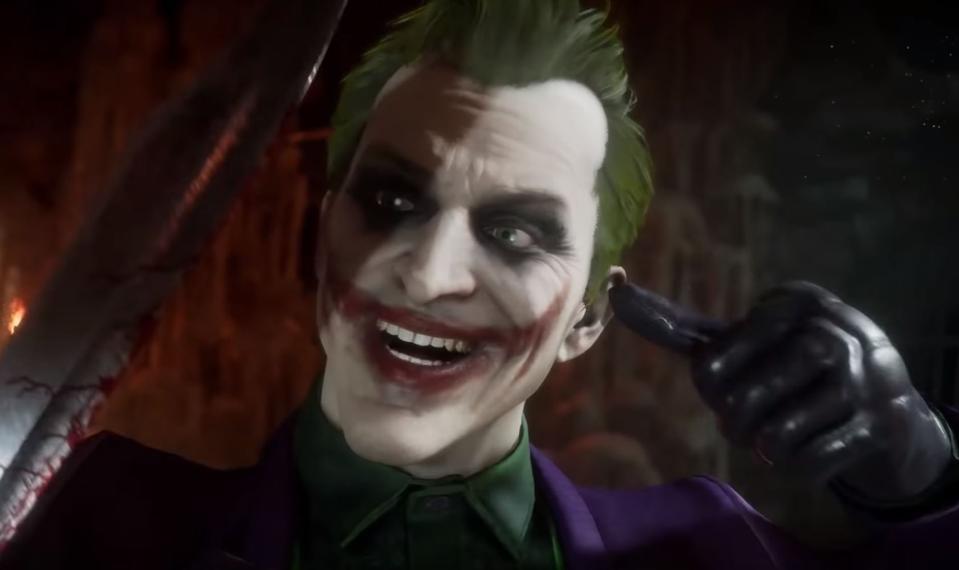 Image result for mortal kombat 11 The Joker
