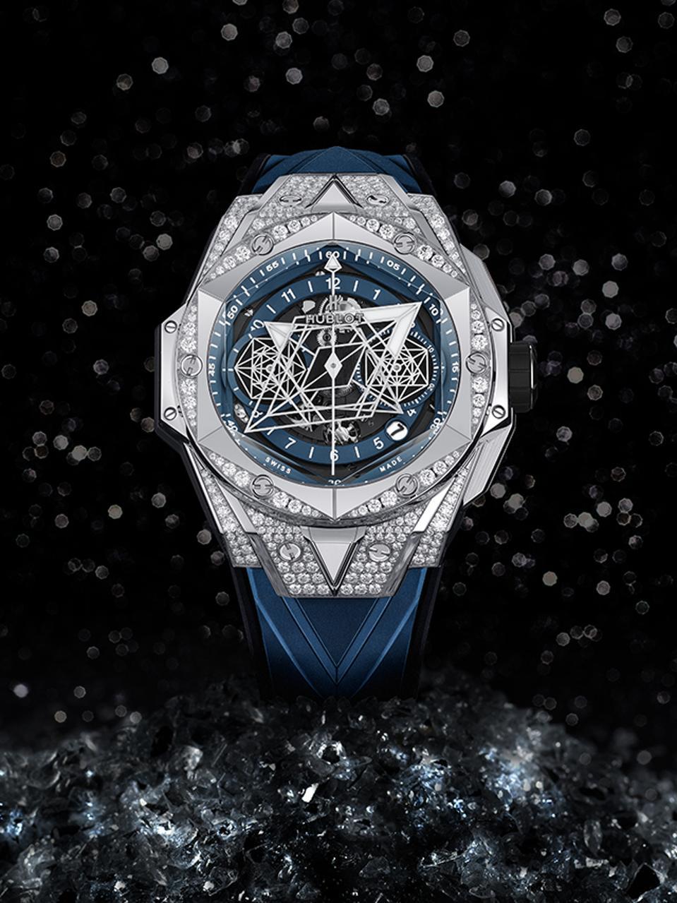 The Hublot Big Bang Sang Bleu II.