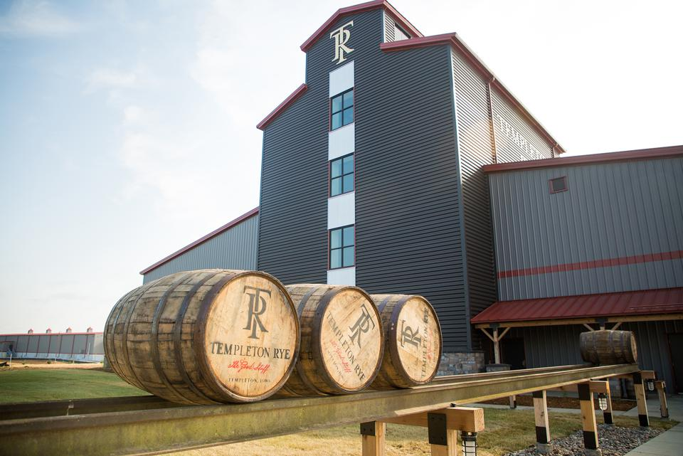 A new distillery opened in Templeton, Iowa in 2018.
