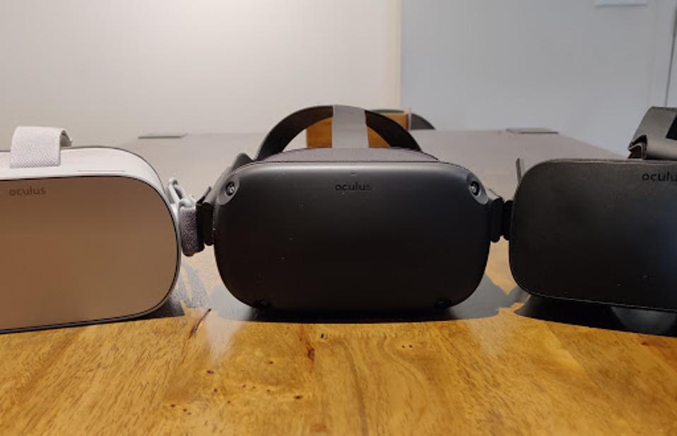Oculus headsets.