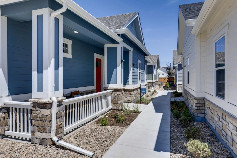 A single-family-built for rent example project