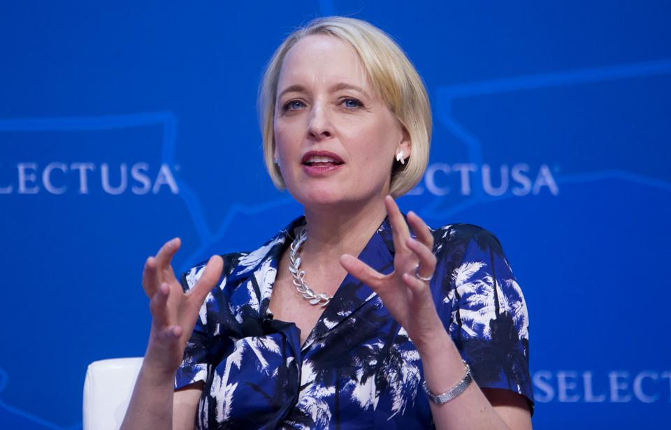 Julie Sweet, chief executive officer for North America at Accenture PLC