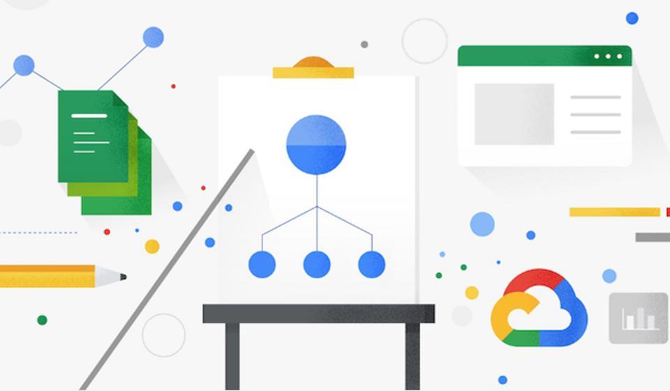 A pictorial representation of the Google Cloud Platform.