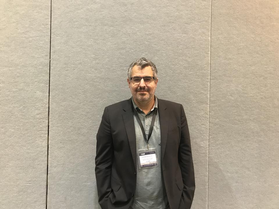 Hedera Hashgraph CPO Lionel Chocron at Blockchain Expo 2019