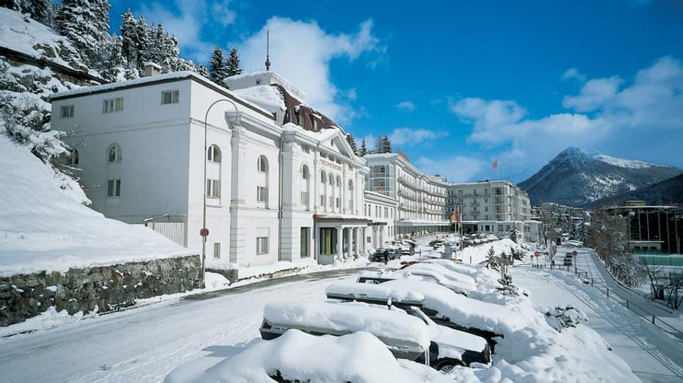 Billionaires Descend On The Most Fortified Hotel In The World, The Steigenberger In Davos, Switzerland