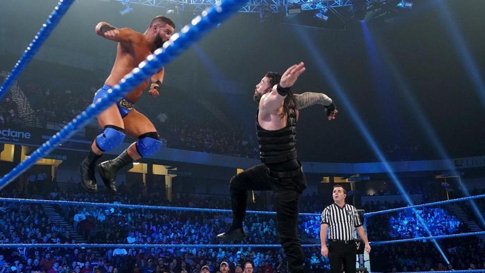 Roman Reigns Robert Roode WWE Friday Night SmackDown 2020 Big Dog