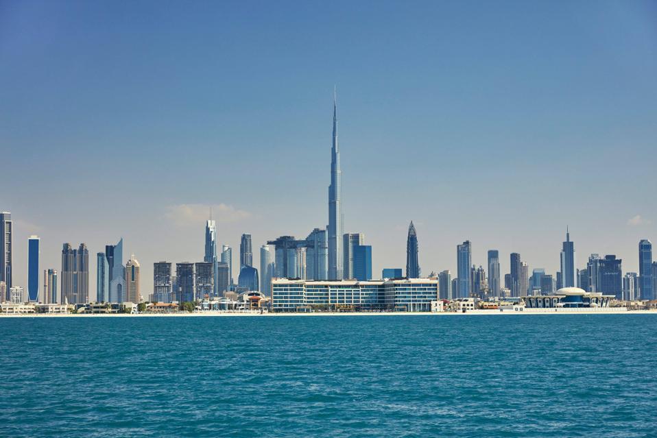 Arabian blues meet Cityscapes