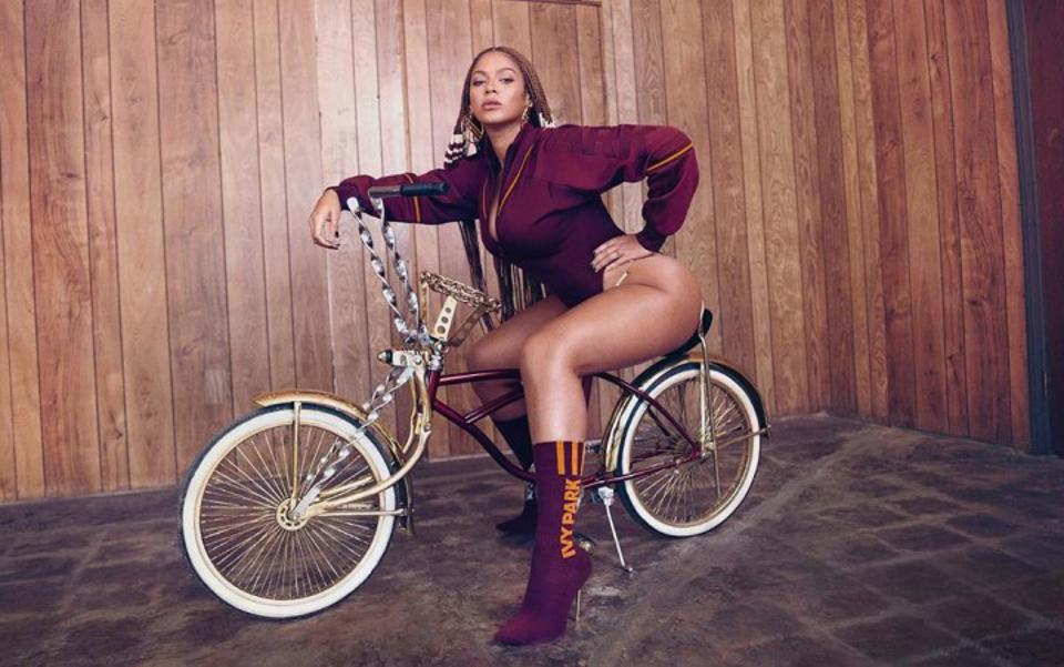 Beyoncé in Ivy Park x Adidas