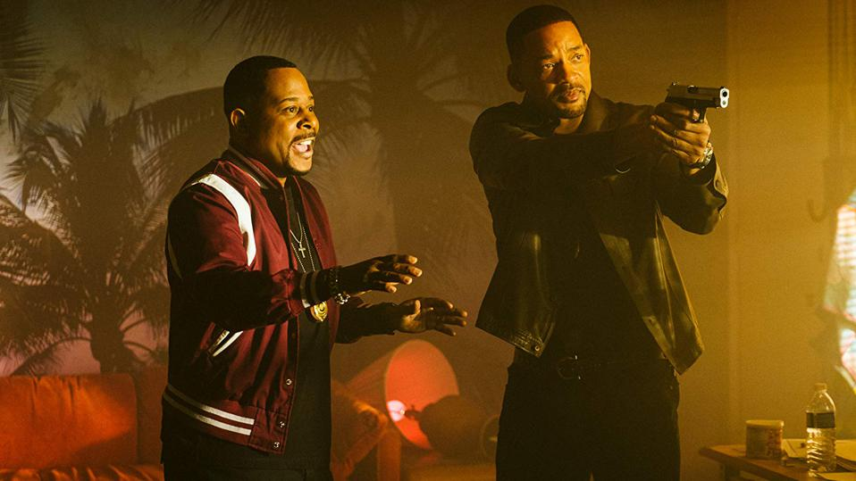 Martin Lawrence and Will Smith in Columbia's 'Bad Boys For Life'