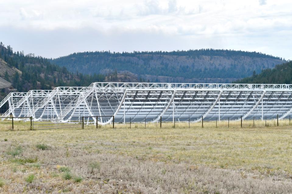 Canada's CHIME telescope.