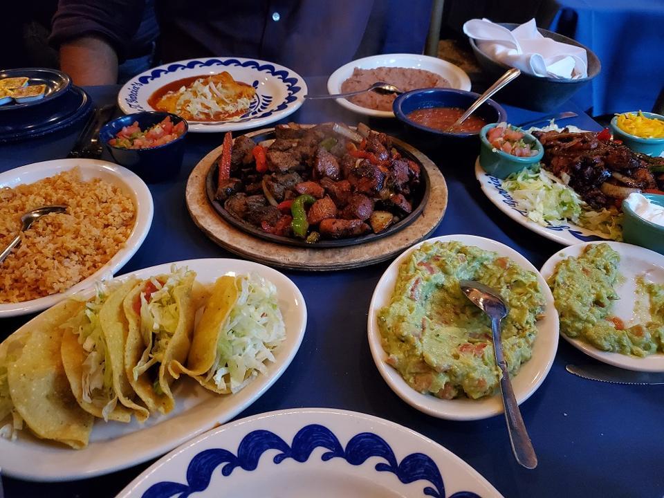 Tex Mex meal