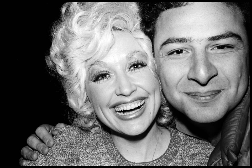 Dolly Parton and Jean Pigozzi