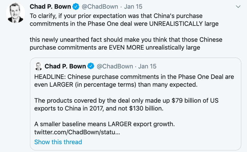 U.S. China Goods exports