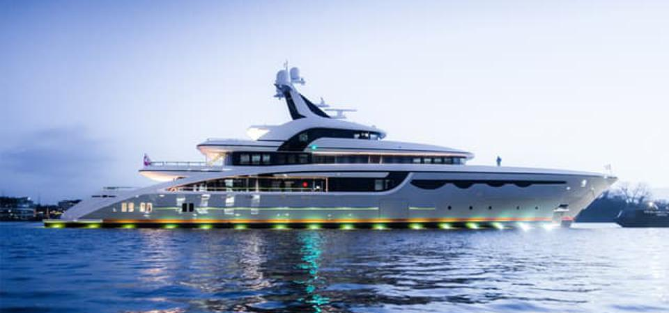 Abeking & Rasmussen's Newly Launched 223-Foot-Long Superyacht Joins An Elite Fleet Of New Superyacht Builds