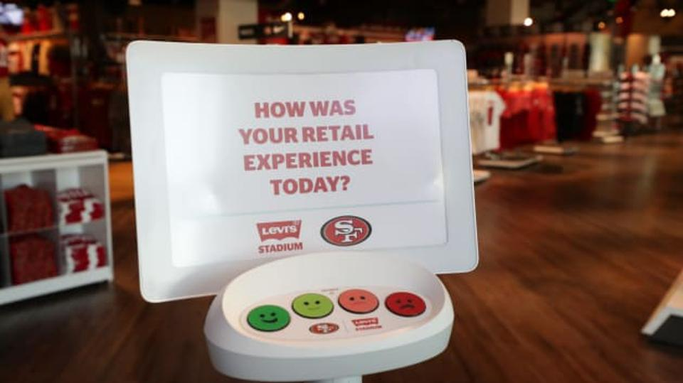 San Francisco 49ers executive Moon Javaid discovered HappyOrNot in an airport during a layover and the technology has aided the 49ers in improving their fan expierience.