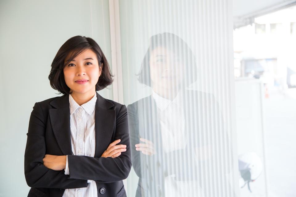 Asian American Businesswoman