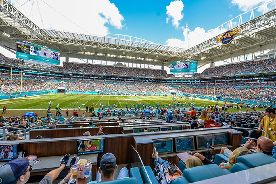 New Miami Dolphins stadium