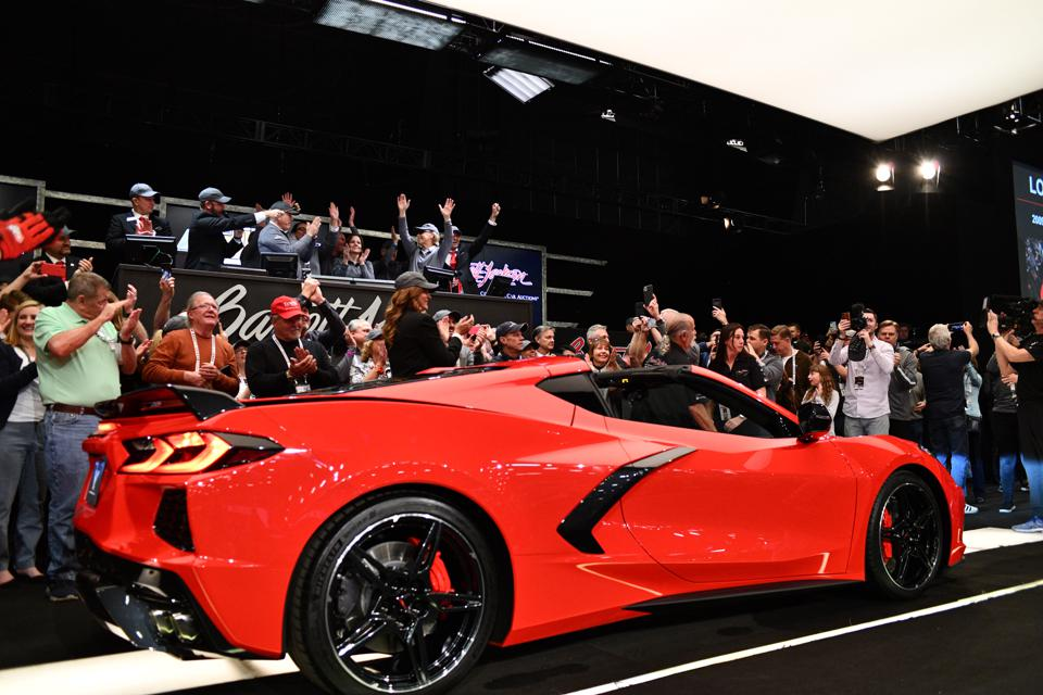 First Production Corvette C8 Sells for $3 Million