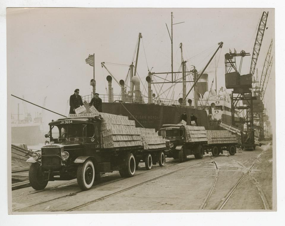 Post prohibition shipment of Jameson whiskey to the US in 1934