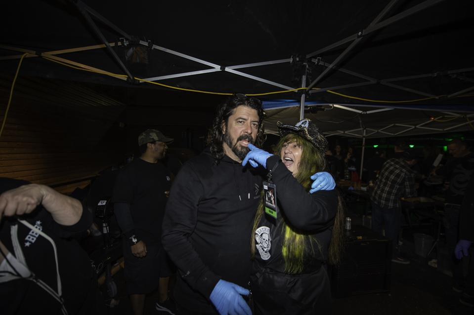 Dave Grohl And Rita Haney Celebrate 'Dimebag' Darrell And The Art Of The BBQ