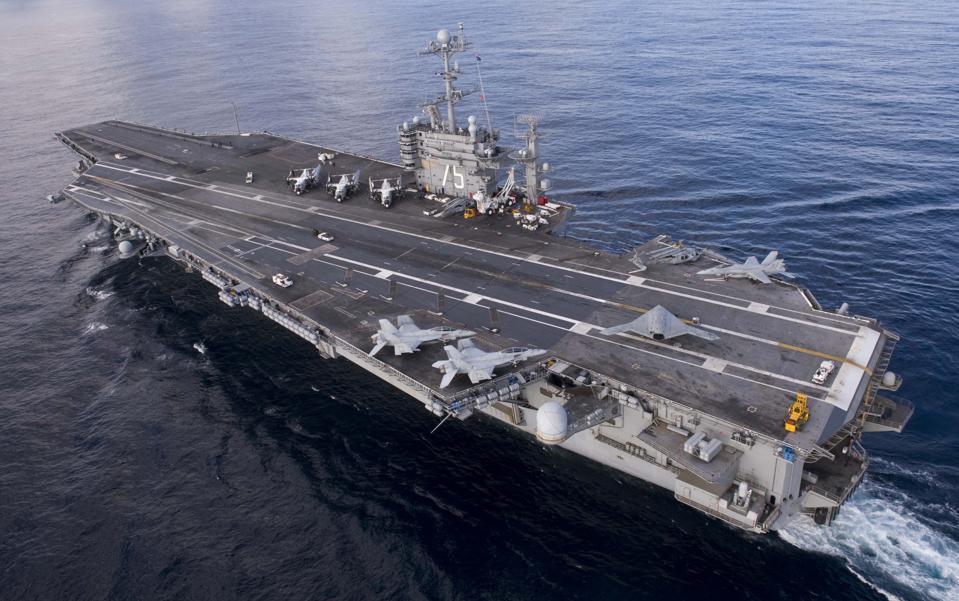 Artificial Intelligence Drone runs U.S. Navy Sea Trials