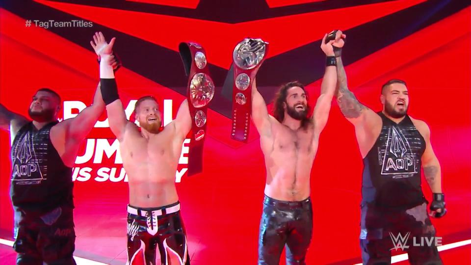 WWE Raw Results: News And Notes After Seth Rollins And Buddy Murphy Win Raw Tag Team Titles