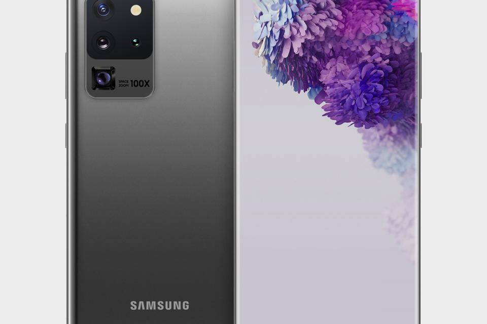 A render of the upcoming Samsung Galaxy S20 by render artist @bengeskin on Twitter.