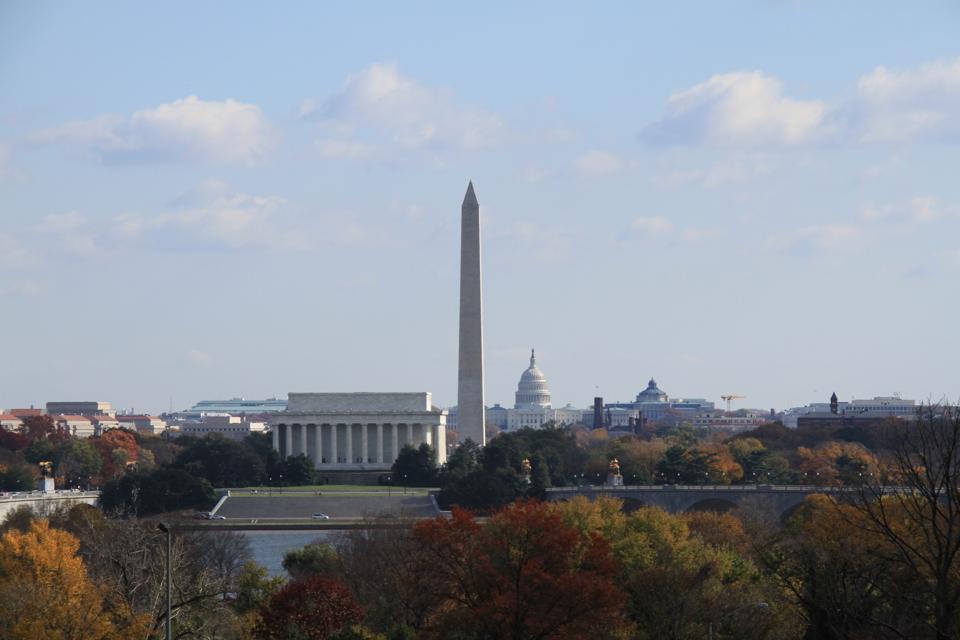 DC Skyline in Autumn