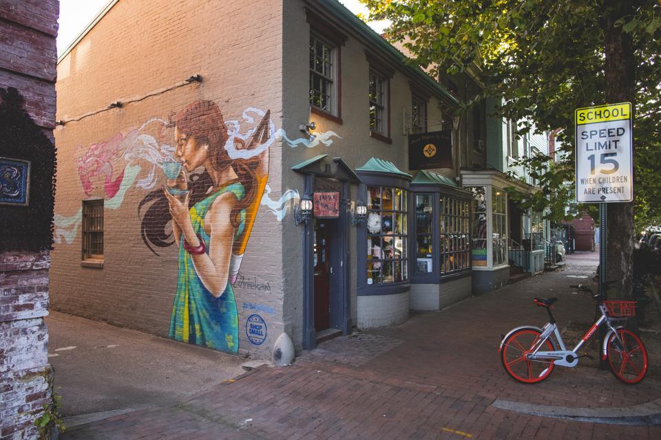 Georgetown P Street