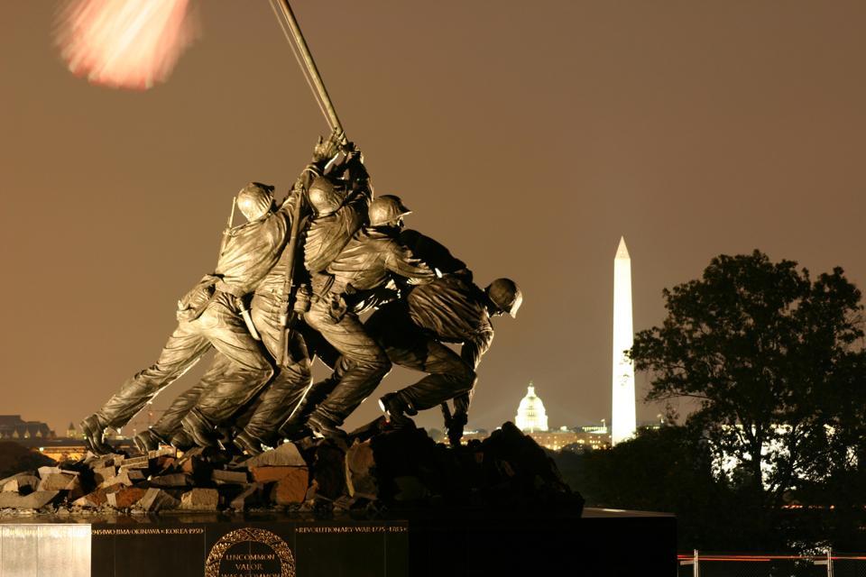 Marine Corps War Memorial Iwo Jima