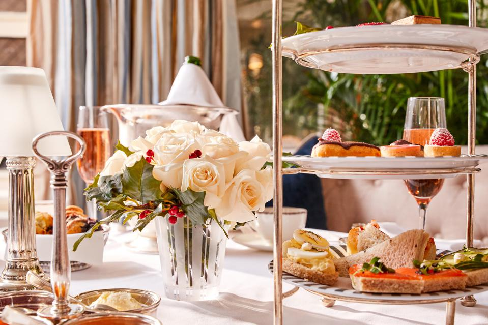 Afternoon tea is the ideal way to spend a relaxing afternoon.
