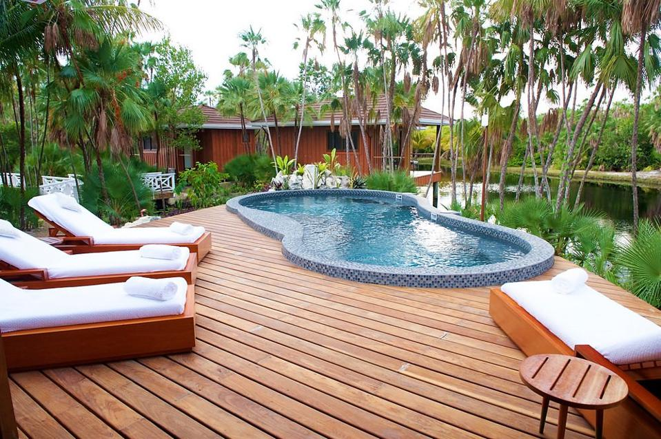 Naia Resort and Spa offers a serene setting for its guests.