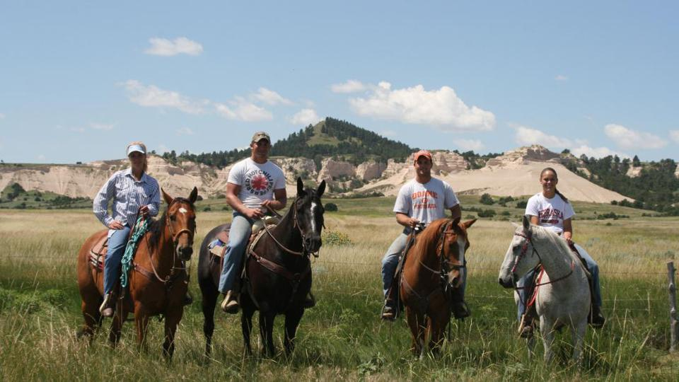 The ranch is home to some amazing landscapes and activities.