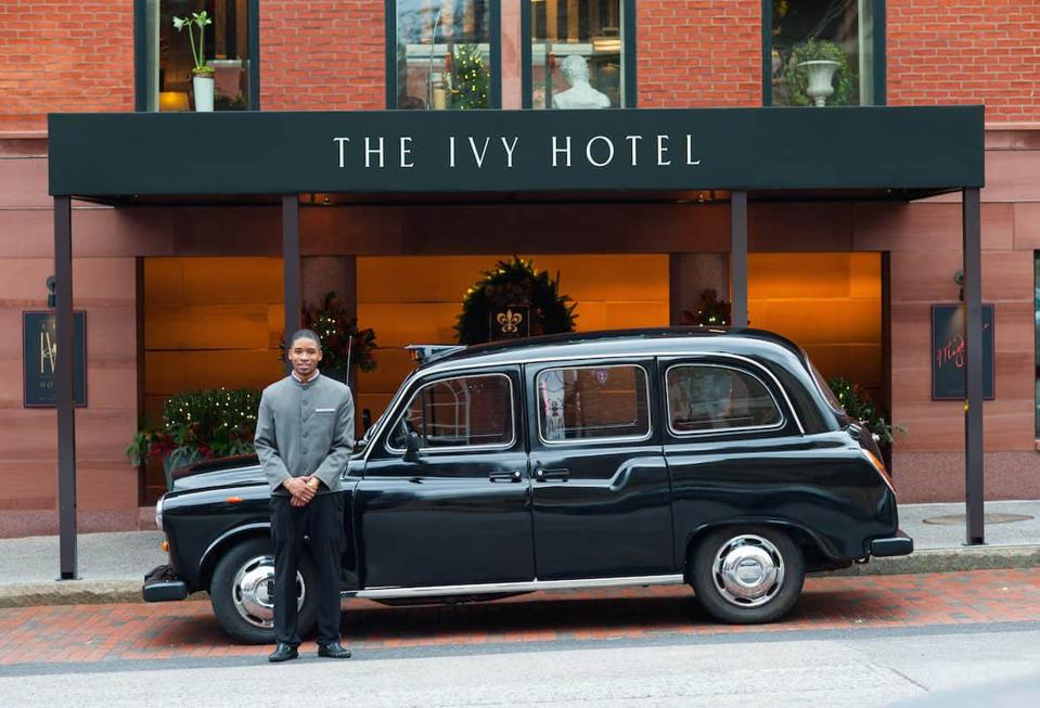 The Ivy Hotel is Baltimore's most expensive room hotel.