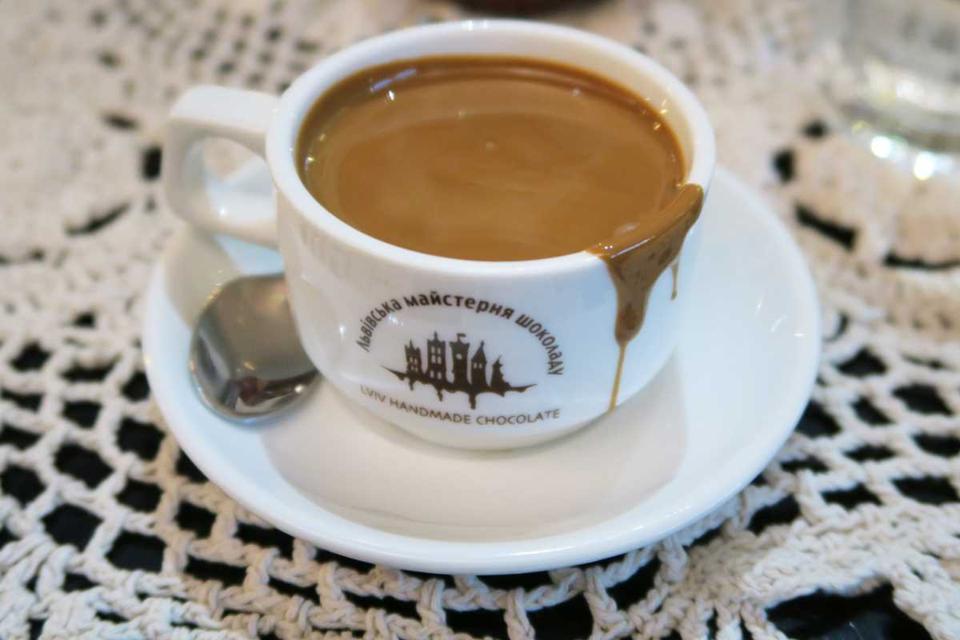 lviv handmade chocolate hot chocolate kyiv ukraine