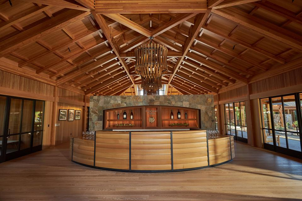 new cakebread winery visitors center in napa