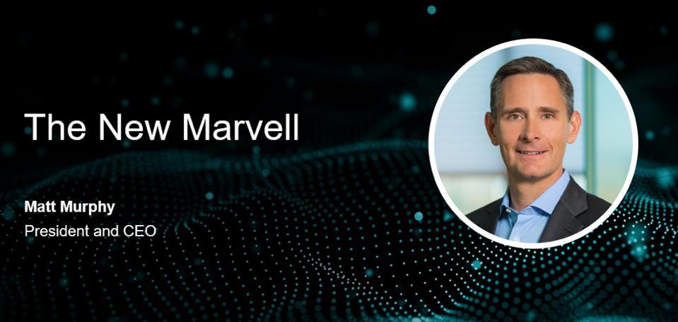 Matt Murphy, President and CEO of Marvell.