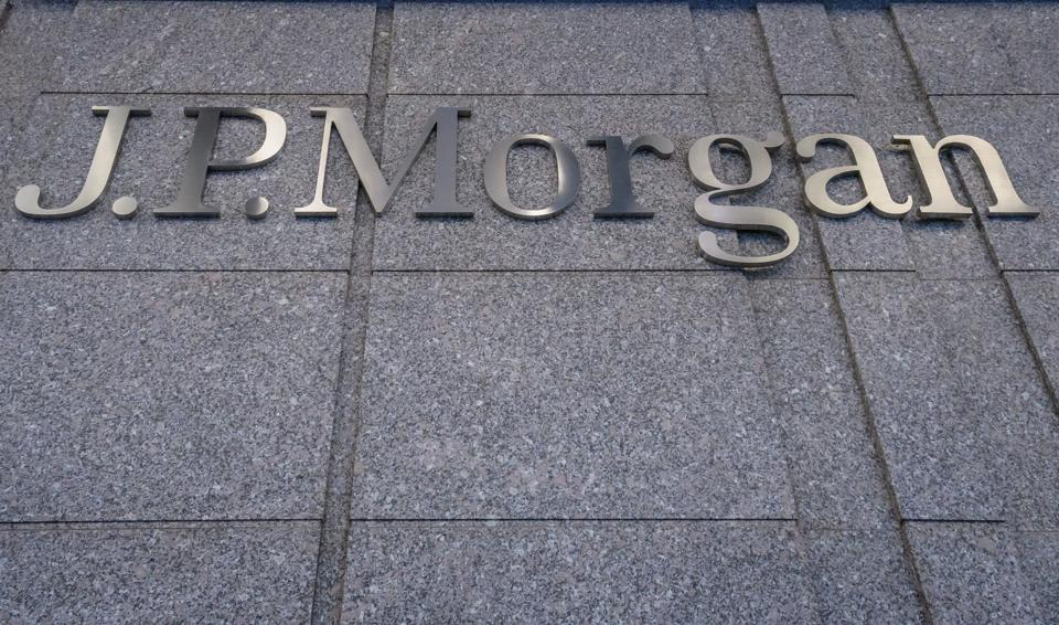 JPMorgan Chase headquarters in central Manhattan...
