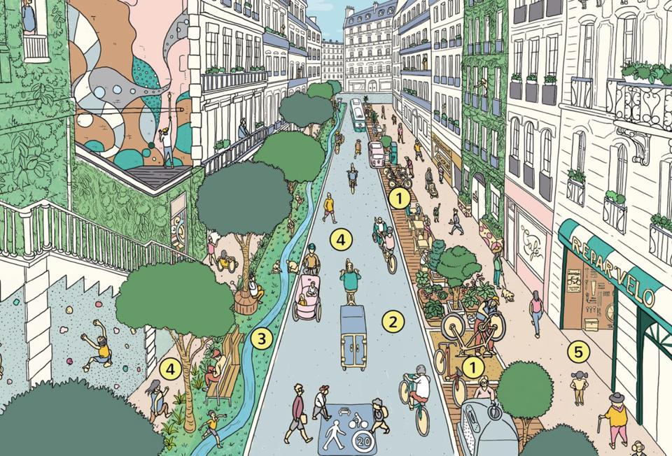 Every Street In Paris To Be Cycle-Friendly By 2024, Promises Mayor