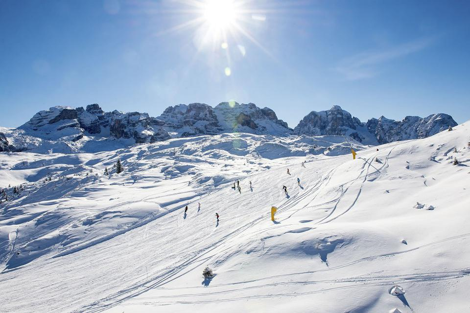 Skiing in Italy