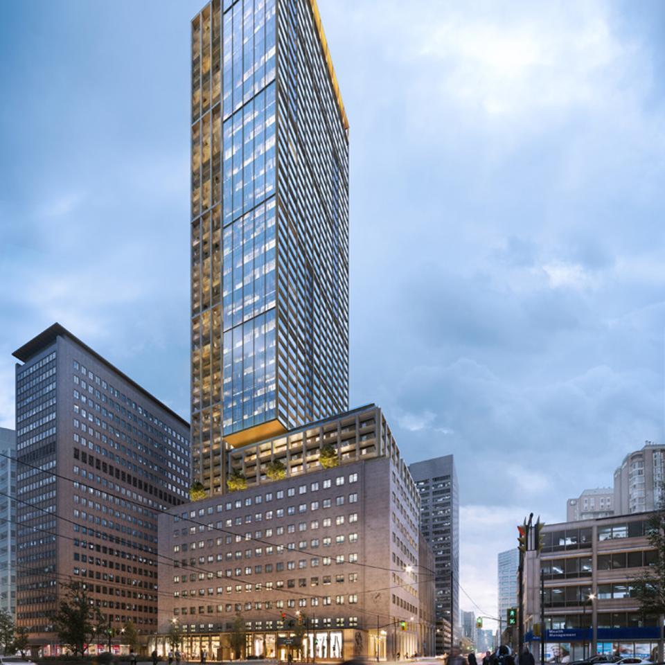 The United Building, Toronto