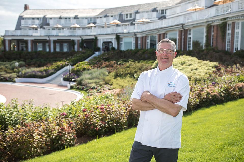 Anthony Cole, Executive Chef, Chatham Bars Inn.