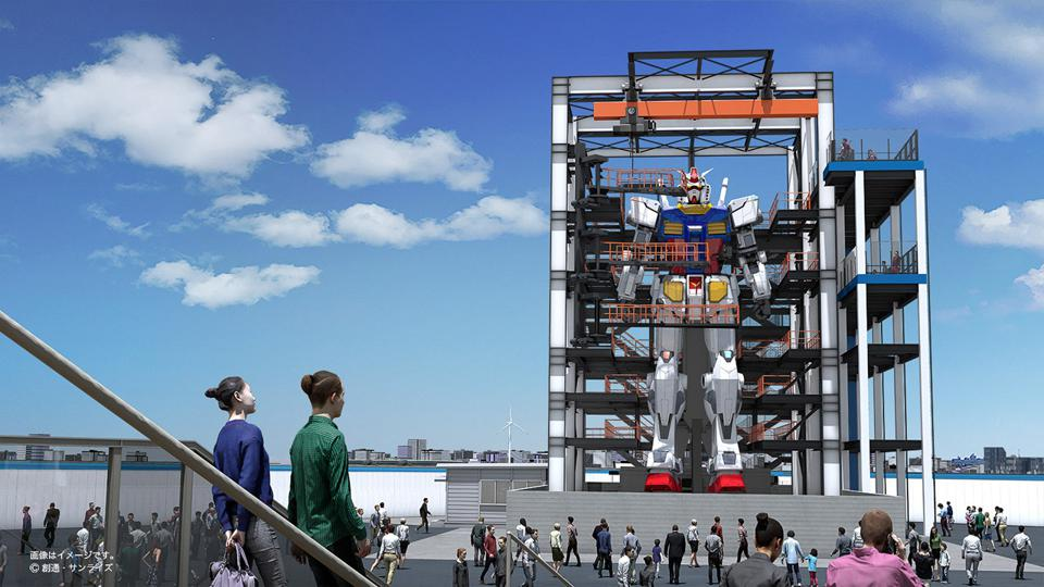 A Walking Life-Size Gundam Will Be Unveiled In Japan This October
