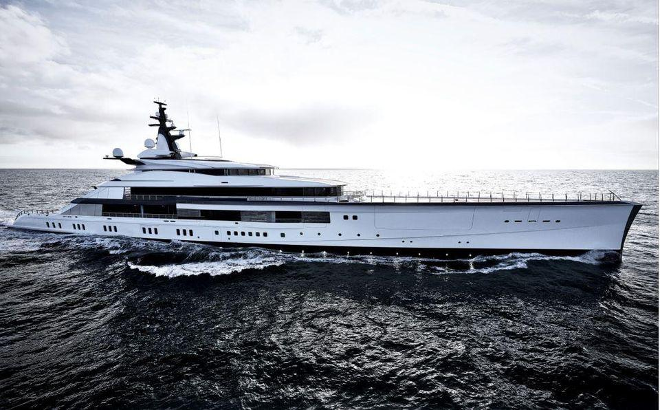 Jerry Jones conducted the Dallas Cowboy's draft from his 357-foot long superyacht