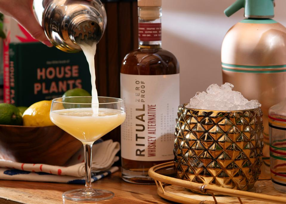 Ritual Zero Proof is a one-to-one alternative to traditional spirits.