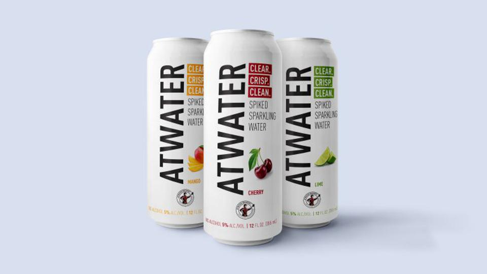 Atwater Brewery hard seltzer