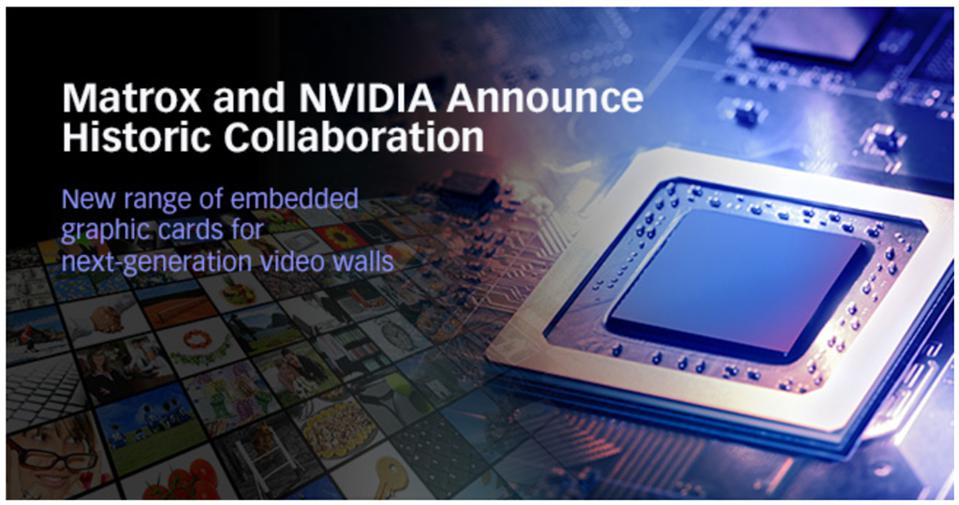 Matrox Will Use NVIDIA GPUs